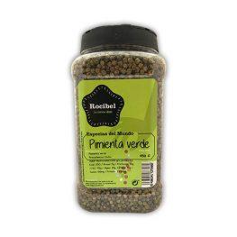 Pimienta verde deshidratada Murcia Rocibel